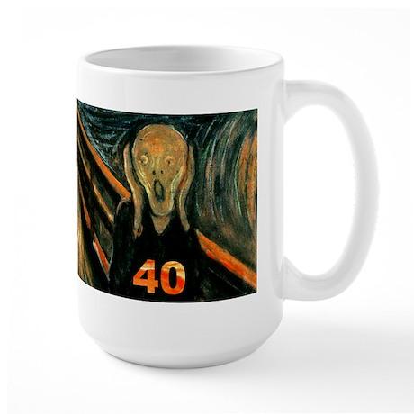 Scream 40th Large Mug
