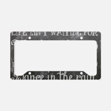 Cute Learning License Plate Holder