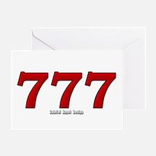777 Greeting Card