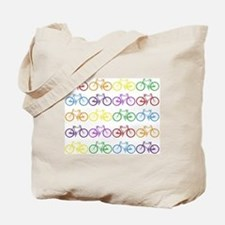 Funny Bicycle Tote Bag
