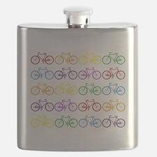 Unique Bicycles Flask