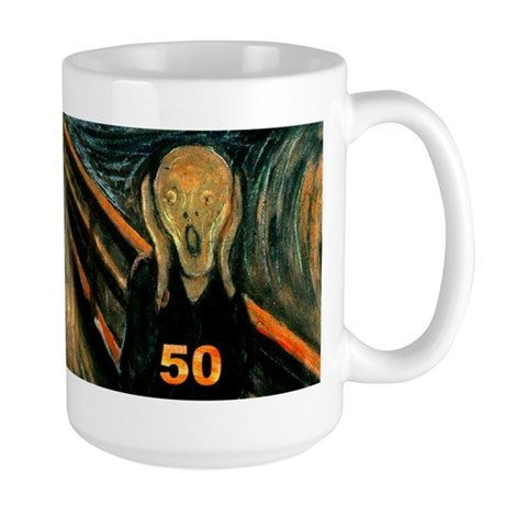 Scream 50th Large Mug