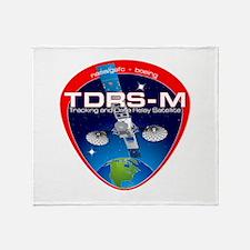 TDRS-M Logo Throw Blanket