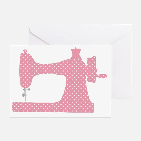 Unique The sewing machine Greeting Card
