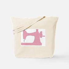 Cool Vintage sewing machine ad Tote Bag