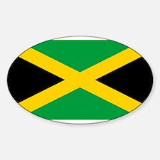 Jamaica Flag Decal
