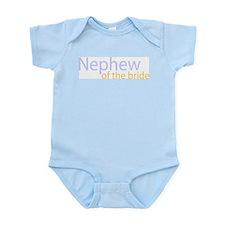 nephew of the bride Infant Bodysuit