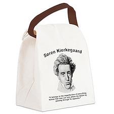 Kierkegaard Desire Canvas Lunch Bag