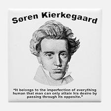Kierkegaard Desire Tile Coaster