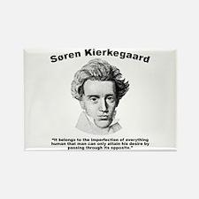Kierkegaard Desire Rectangle Magnet