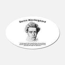 Kierkegaard Desire Wall Decal
