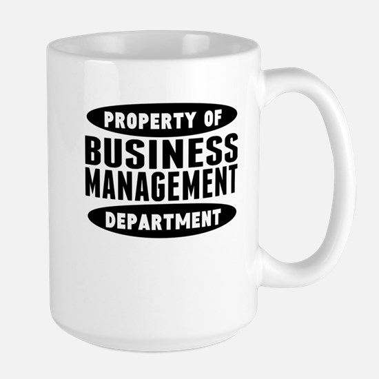 Property Of Business Management Department Mugs