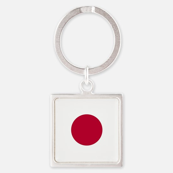 Japan Flag Keychains