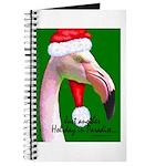 Flamingo Santa Claus Journal