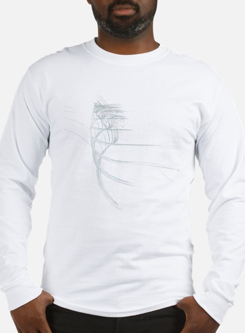Cute Abstract lines Long Sleeve T-Shirt