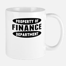 Property Of Finance Department Mugs