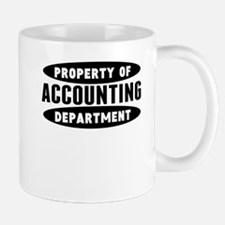 Property Of Accounting Department Mugs