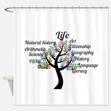 Colorful Life Tree Shower Curtain