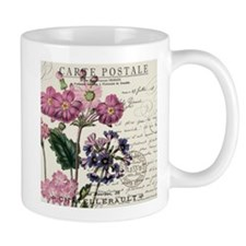 VINTAGE FRENCH LAVENDER AND POST CARD Mugs