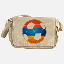 Armenian Soccer Ball Messenger Bag