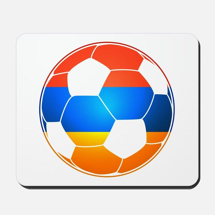 Armenian Soccer Ball Mousepad