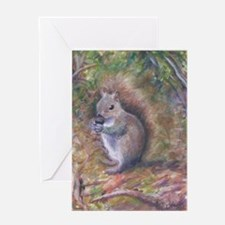 NUTKINS THE SQUIRREL Greeting Cards