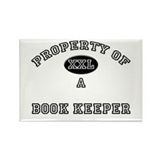Property of a Book Keeper Rectangle Magnet
