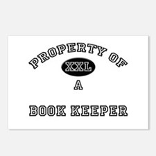 Property of a Book Keeper Postcards (Package of 8)