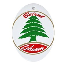 LEBANON copy.jpg Oval Ornament
