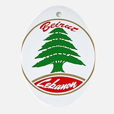 LEBANON copy.jpg Oval Ornament
