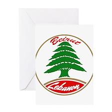 LEBANON copy.jpg Greeting Cards