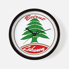 LEBANON copy.jpg Wall Clock
