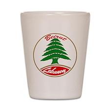 LEBANON copy.jpg Shot Glass