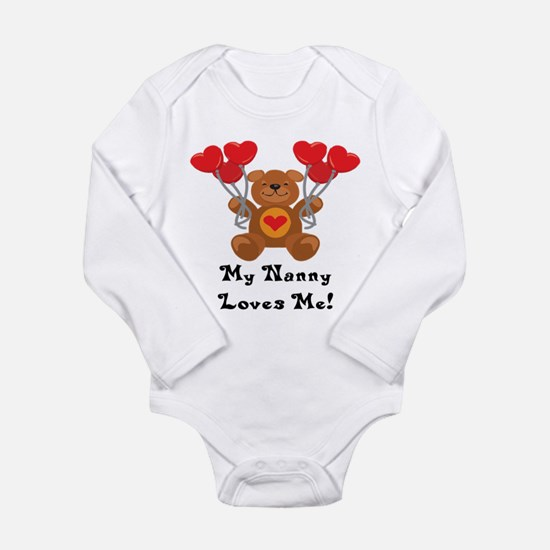 Cute Nanny Long Sleeve Infant Bodysuit