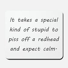 redhead Mousepad