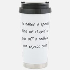redhead Travel Mug