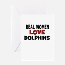 Cute Dolphin lover Greeting Card