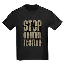 Stop Animal Testing T