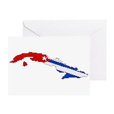 """Pixel Cuba"" Greeting Card"