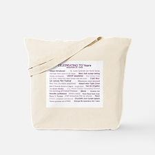 Memories of 1946 Tote Bag