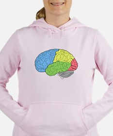 Primary Brain Women's Hooded Sweatshirt