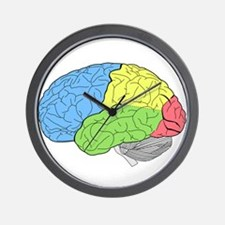 Primary Brain Wall Clock