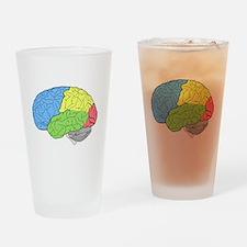 Primary Brain Drinking Glass