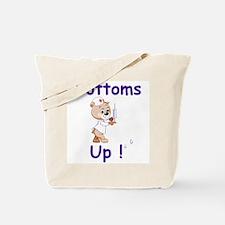 Bottoms Up Bear Tote Bag
