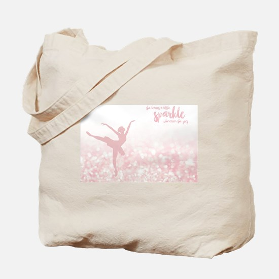 Cute Dancing Tote Bag