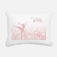 Unique Ballet Rectangular Canvas Pillow