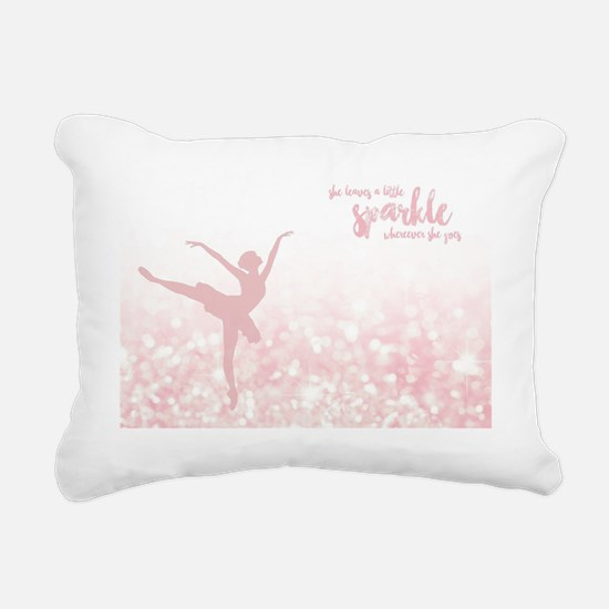Cute Ballet Rectangular Canvas Pillow