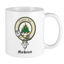 MacKenzie Crest&War Cry (Gaelic) Mug