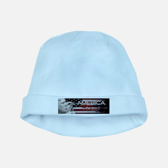 DWX EAGLE ONE AMERICA FIRST baby hat