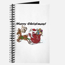 Merry Christmas Santa Journal